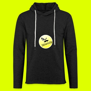 Shirt with nice logo with text - Light Unisex Sweatshirt Hoodie