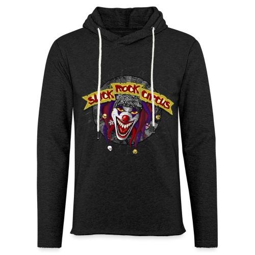 Slick Rock Circus - Evil Clown - Leichtes Kapuzensweatshirt Unisex