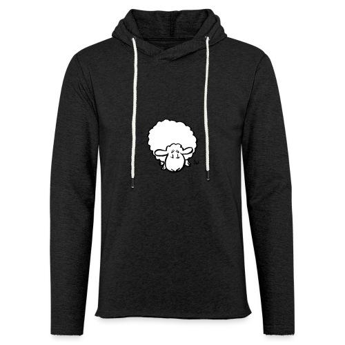 Moutons - Sweat-shirt à capuche léger unisexe