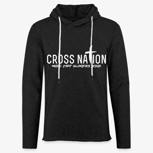 Cross Nation 2017 Logo - Let sweatshirt med hætte, unisex
