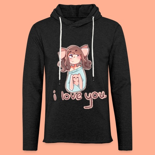 i love you - Light Unisex Sweatshirt Hoodie