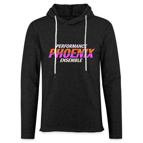 Phoenix Distorted Pink - Leichtes Kapuzensweatshirt Unisex