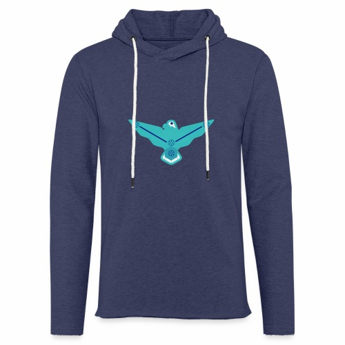 the nordic eagle merch - Lett unisex hette-sweatshirt