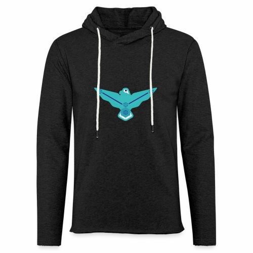 the nordic eagle merch - Lett unisex hette-sweatshirt