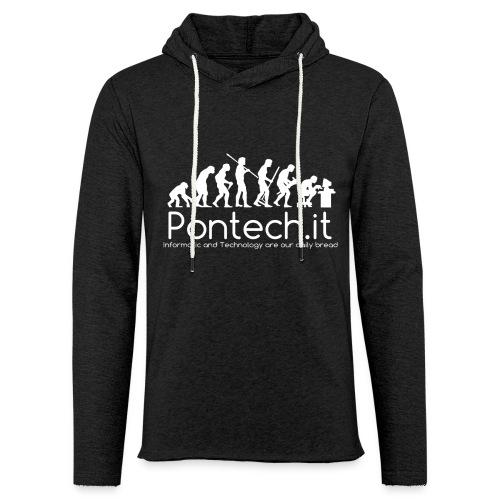 Pontech.it - Felpa con cappuccio leggera unisex