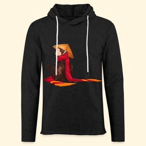 Un singe en hiver - Sweat-shirt à capuche léger unisexe