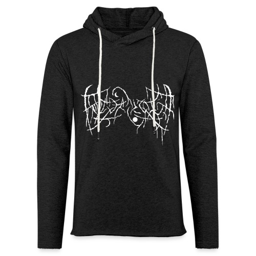 Fake Metal Band - Felpa con cappuccio leggera unisex