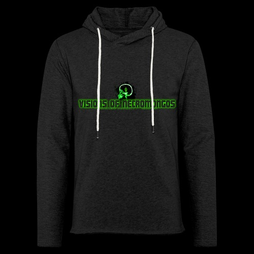 Necromongo Logo ONE - Leichtes Kapuzensweatshirt Unisex