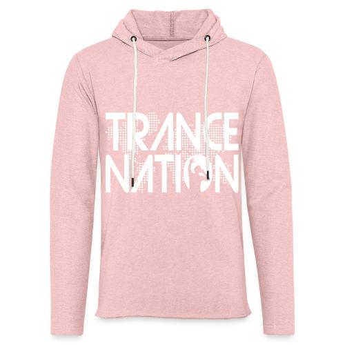 Trance Nation (White) - Lätt luvtröja unisex