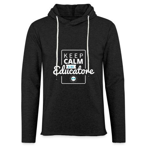 Educatore - Felpa con cappuccio leggera unisex