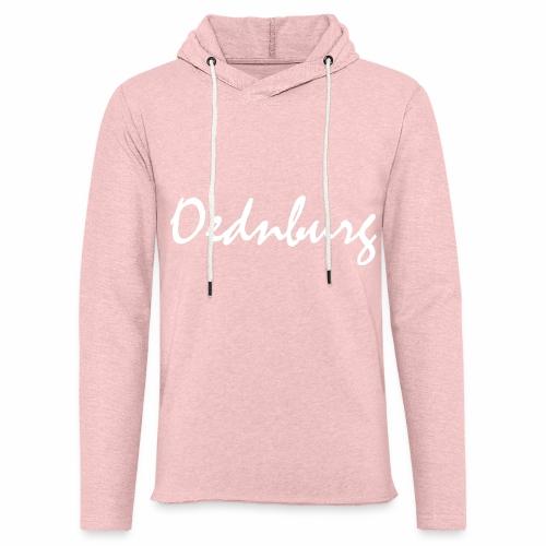 Oednburg Wit - Lichte hoodie unisex