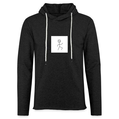 stick man t-shirt dance 1,0 - Let sweatshirt med hætte, unisex