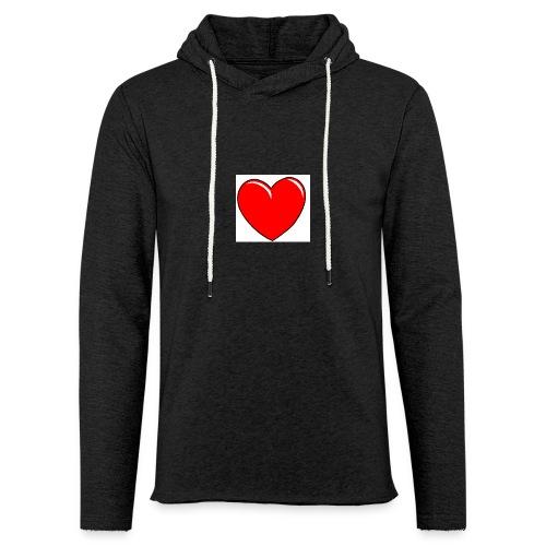 Love shirts - Lichte hoodie unisex