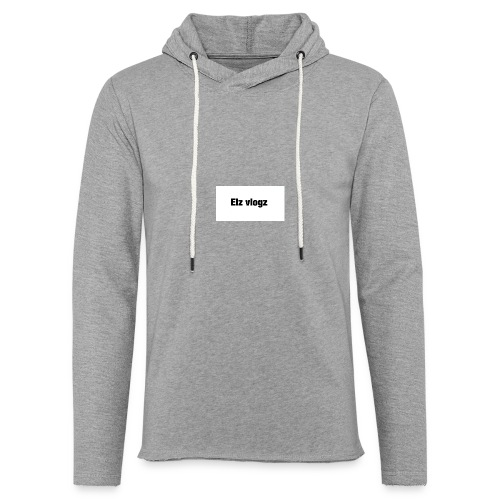 Elz vlogz merch - Light Unisex Sweatshirt Hoodie