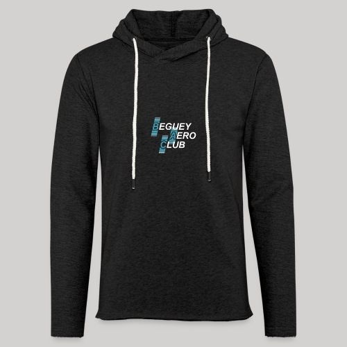 logo 2018 clair - Sweat-shirt à capuche léger unisexe