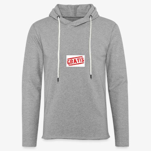 verkopenmetgratis - Lichte hoodie unisex