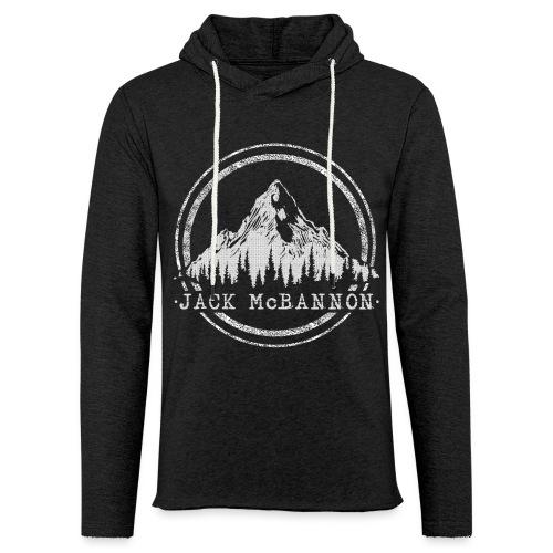 Jack McBannon - Mountain - Leichtes Kapuzensweatshirt Unisex