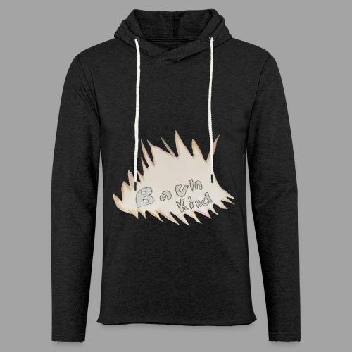 BAumkind logo design - Leichtes Kapuzensweatshirt Unisex