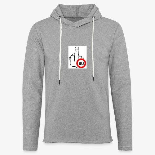 Doigt Coeur - Sweat-shirt à capuche léger unisexe