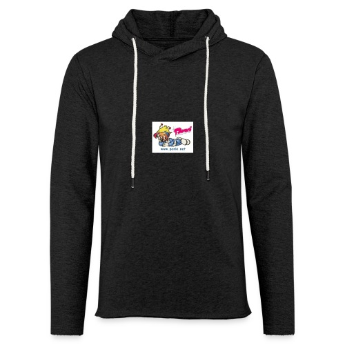 panki sticker neu - Leichtes Kapuzensweatshirt Unisex