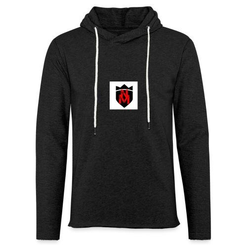 Weißer Hoodi mit neuem Logo - Leichtes Kapuzensweatshirt Unisex
