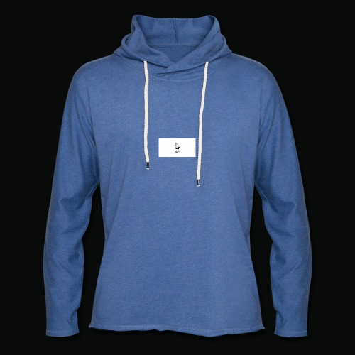 bafti long sleeve tee - Let sweatshirt med hætte, unisex