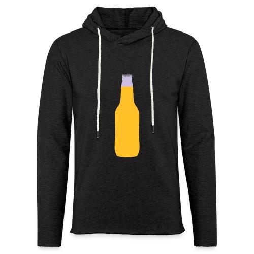 Bierflasche - Leichtes Kapuzensweatshirt Unisex
