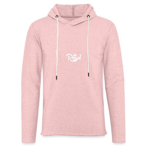 Royal Logo White Edition - Light Unisex Sweatshirt Hoodie