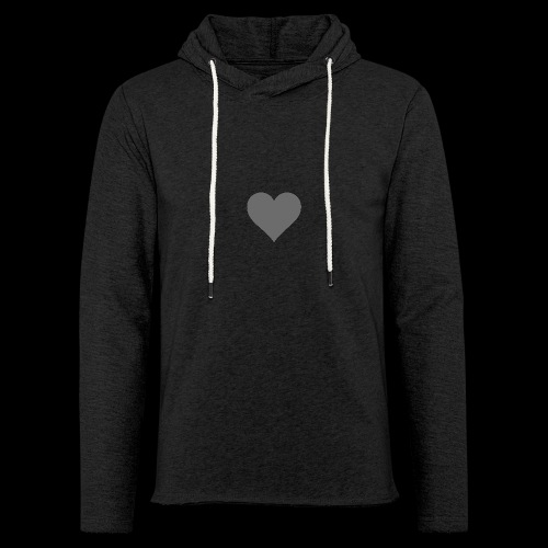 hearth design tee - Let sweatshirt med hætte, unisex