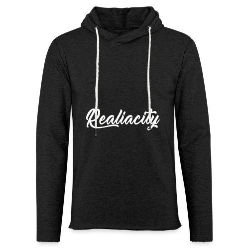 Realiacity Logo - Sudadera ligera unisex con capucha
