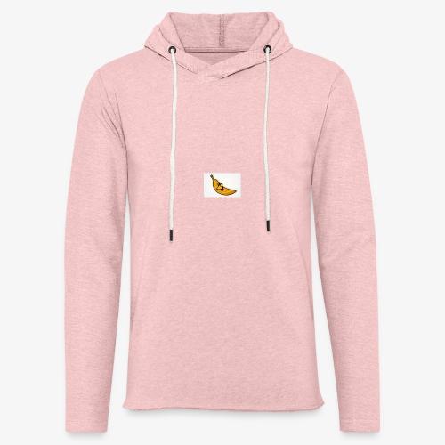Bananana splidt - Let sweatshirt med hætte, unisex