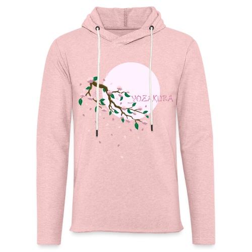 Cherry Blossom Festval Full Moon 1 - Leichtes Kapuzensweatshirt Unisex