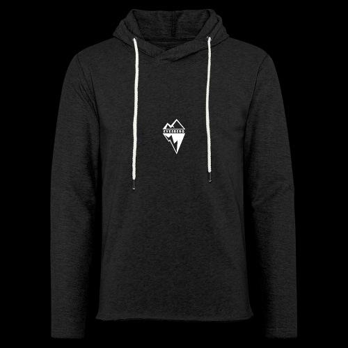 Eyesberg Tshirt Noir - Sweat-shirt à capuche léger unisexe