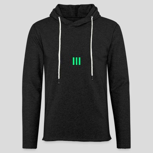 III Logo - Light Unisex Sweatshirt Hoodie