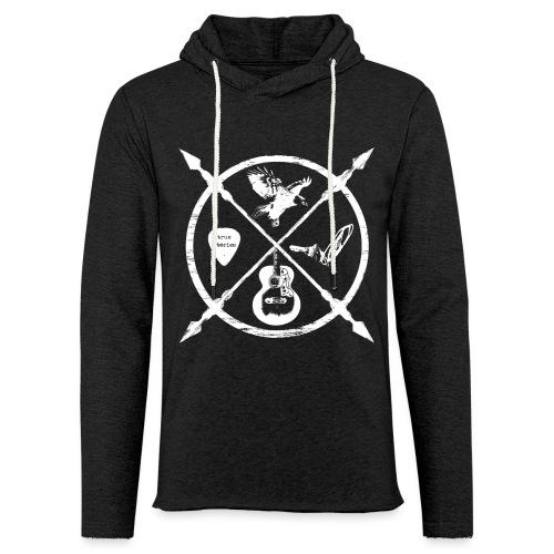 Jack McBannon - Cross Symbols - Leichtes Kapuzensweatshirt Unisex
