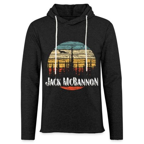 Jack McBannon - Forest Sundown - Leichtes Kapuzensweatshirt Unisex