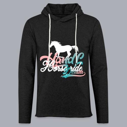 H&L Denim Horse-Ride - Sweat-shirt à capuche léger unisexe