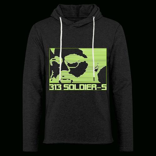 313 SOLDIERS - Leichtes Kapuzensweatshirt Unisex