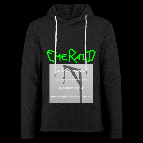 Emerald - Leichtes Kapuzensweatshirt Unisex