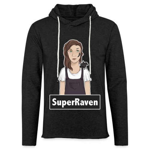 SuperRaven - Light Unisex Sweatshirt Hoodie