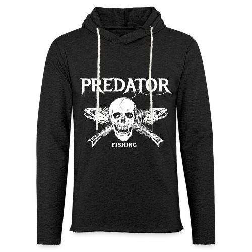 Predator Fishing T-Shirt - Leichtes Kapuzensweatshirt Unisex