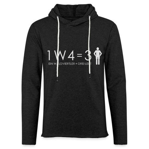 1W4 3L - Leichtes Kapuzensweatshirt Unisex
