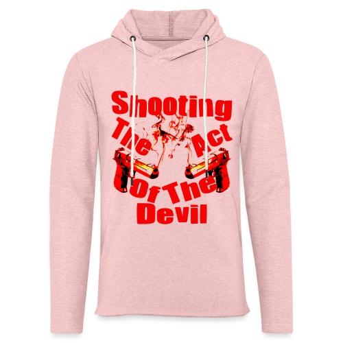 Shooting The Act Of Devil - Sweat-shirt à capuche léger unisexe