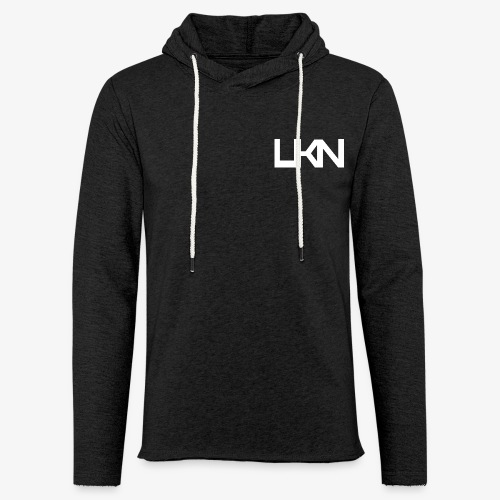 UKN Just White Text - Light Unisex Sweatshirt Hoodie