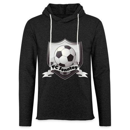 FC Sonntag Logo - Leichtes Kapuzensweatshirt Unisex