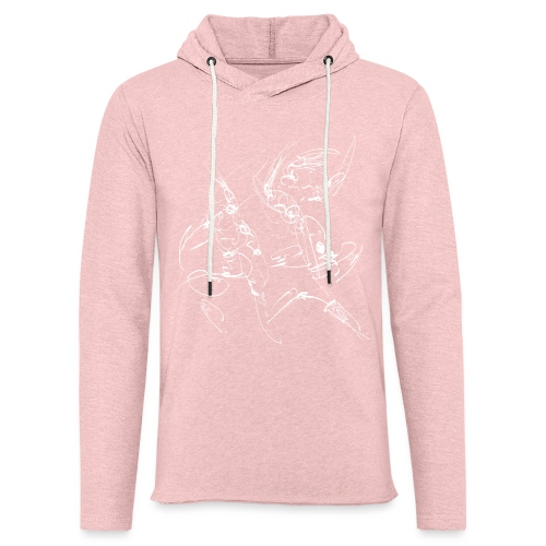 martial arts - Light Unisex Sweatshirt Hoodie
