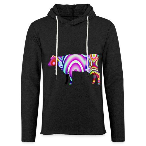 La vache - Sweat-shirt à capuche léger unisexe