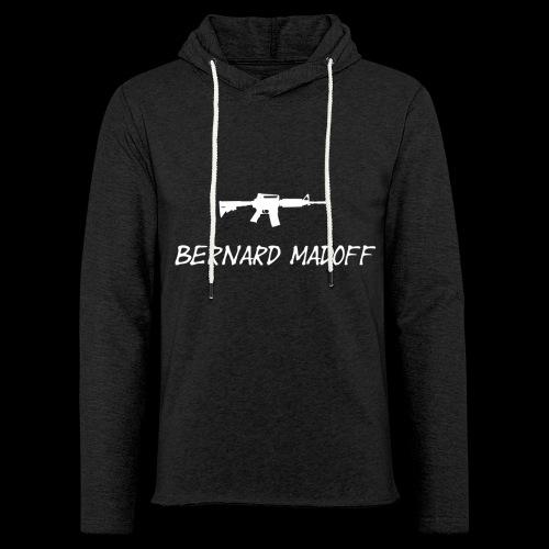 Bernard Madoff - Let sweatshirt med hætte, unisex