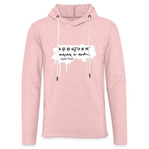 citation snoop noir - Sweat-shirt à capuche léger unisexe