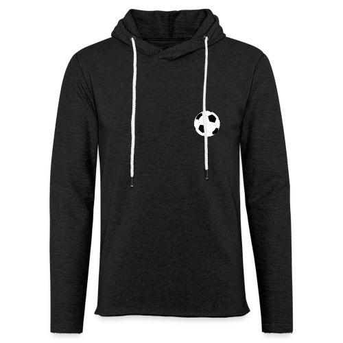 Fussball - Leichtes Kapuzensweatshirt Unisex